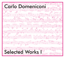 Carlo Domeniconi CD Selected Works 1