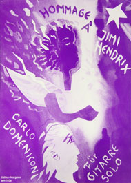 Carlo Domeniconi, Hommage à Jimi Hendrix sheet music cover