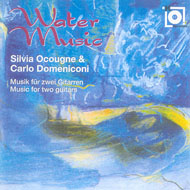 Carlo Domeniconi, Water music CD-Cover